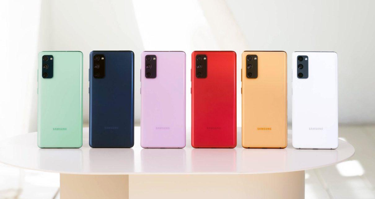 Samsung introduced the Galaxy S20 FE