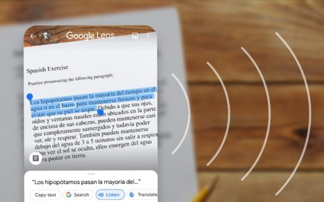 Google Lens has learned to recognize and pronounce handwritten text