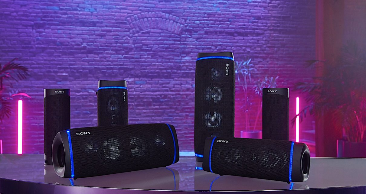 Sony introduced three new Extra Bass speakers