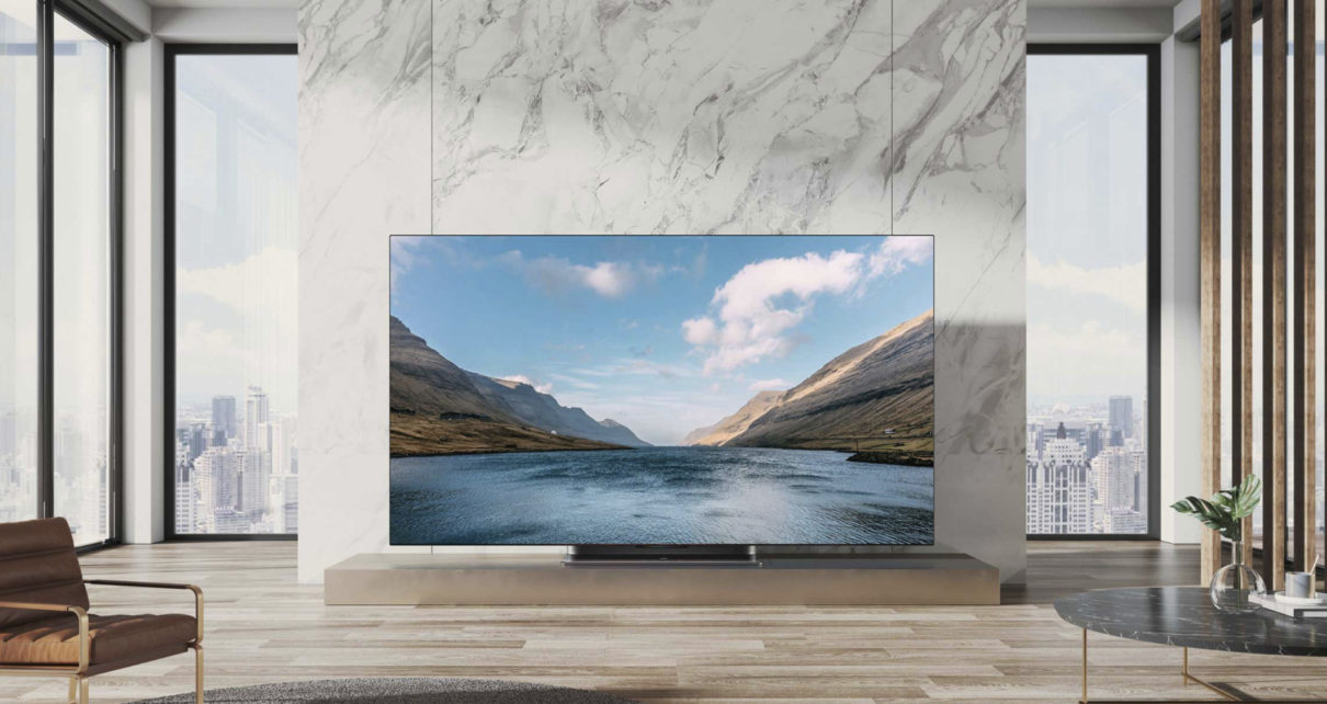 Xiaomi introduced the flagship 65-inch OLED TV - Mi TV Master
