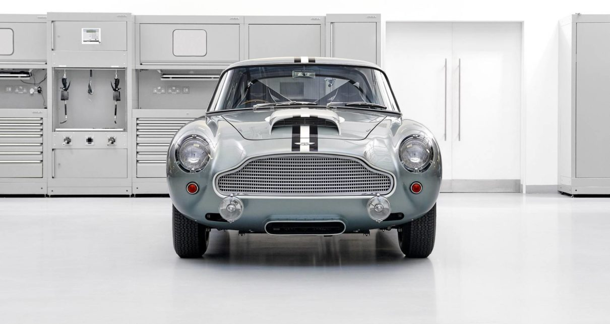 Aston Martin put up for sale reprinted classic DB4