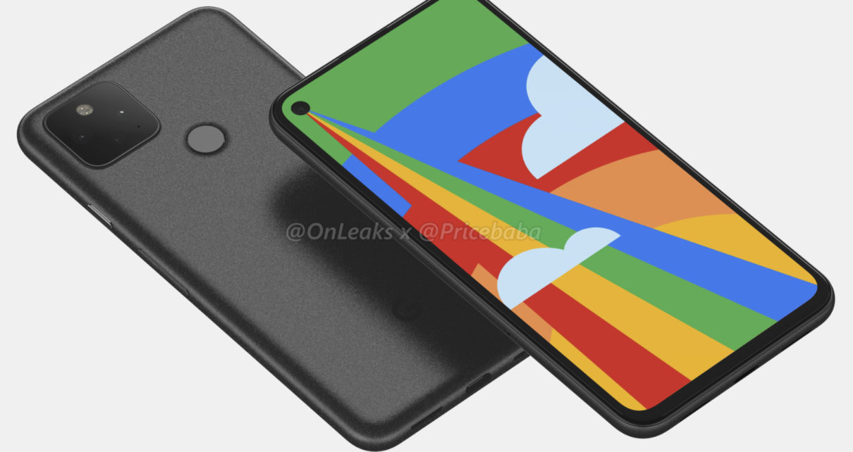 High-quality Google Pixel 5 renders appeared on the web