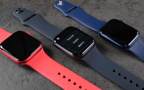 Photo post: we have Apple Watch Series 6